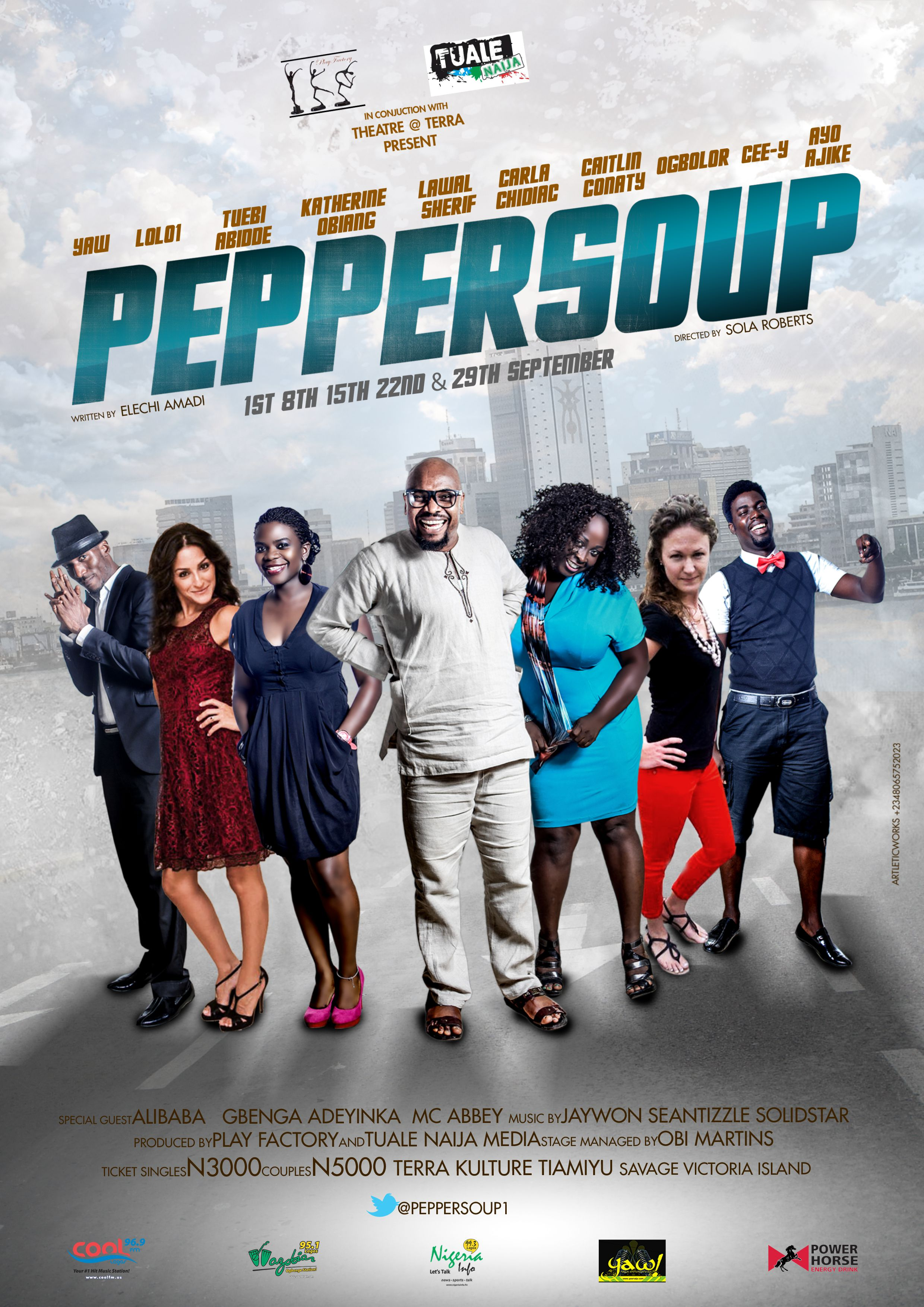 Yaw,Lolo,Katherine,Skeals To Star In Pepper Soup