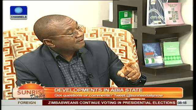 Former Commissioner Insists Abia Government Is Working