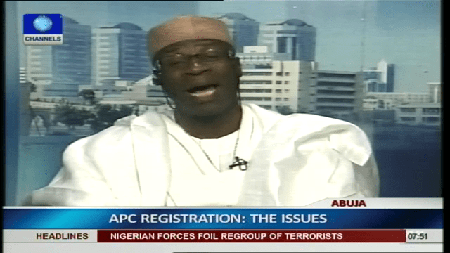 APC's Problems Are Infinitesimal – Fashakin