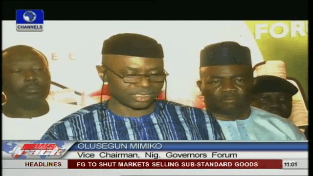 Jang-Led Governors Forum Urges Lecturers To Suspend Strike