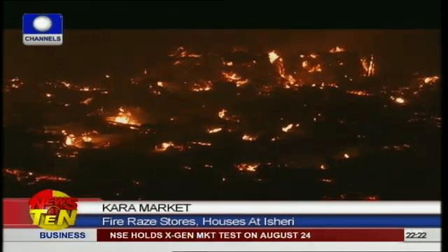 Kara Market: Fire Razes Stores, Houses at Isheri