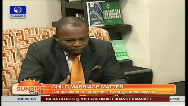 Stop Defending Underage Marriage, It Is 'Undefendable' – Lawyer