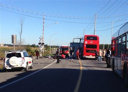 Canada Train, Bus, Collide In Ottawa, At Least Five dead