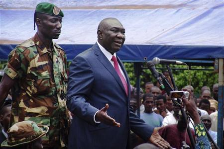 Celebrations In Central African Republic After Leader Resigns