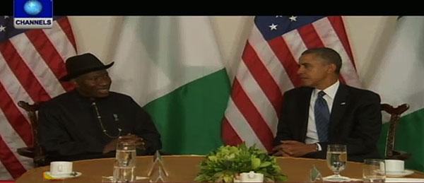 Jonathan,Obama Discuss War Against Terrorism