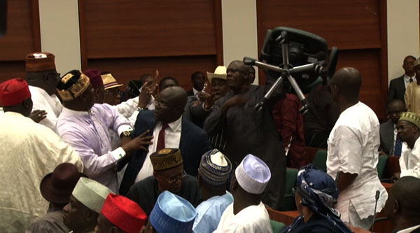 House Of Reps In Rowdy Session Over Baraje Visit