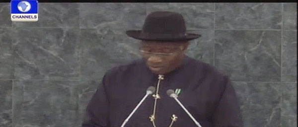 Jonathan Assures World Leaders Of Renewed Commitment To MDGs