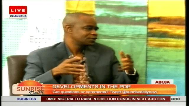 Boni Haruna Backs Tukur's Decision To Deal With Erring PDP Members