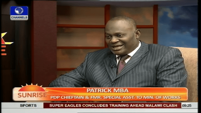PDP Crisis: Baraje, Others Will Definitely Come Back – Mba