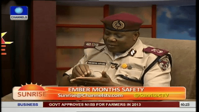 FRSC To Discourage Night Travel In 'Ember' Months