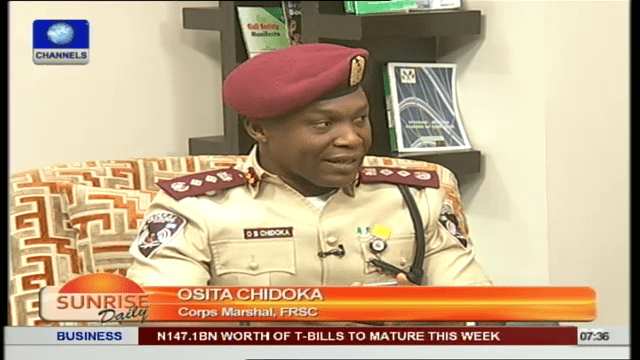 corp marshall federal road safety osita chidoka channels television