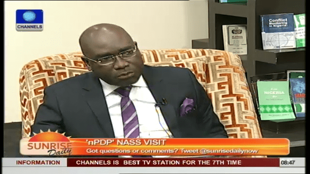 nPDP's Visit To National Assembly Was Morally Wrong- Legal Practitioner