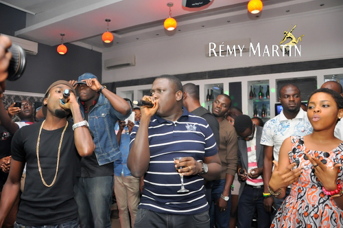 PICTURES: Ill Bliss, Tha Suspect, Chidinma Thrill 'At The Club'