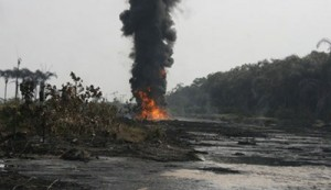 Fire Engulfs Arepo Pipeline Network