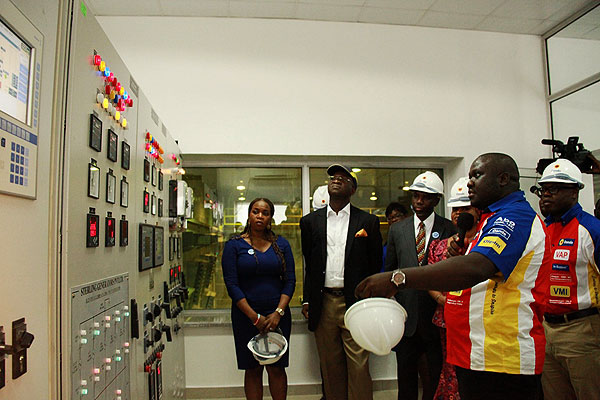 Fashola Commissions Alausa Power Project