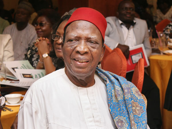 Nwabueze Declines Appointment Into Nat/Conference Advisory Cmmttee, Cites Ill Health, Age