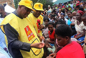 Governor Obi Flags Off Routine Immunization