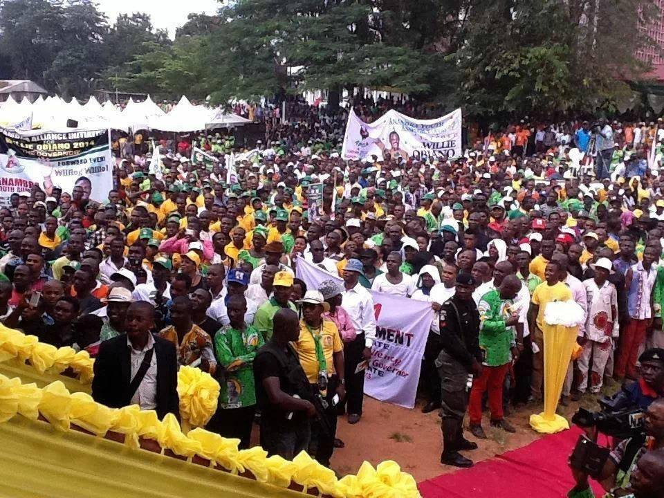 Obiano Takes Campaign To Onitsha Markets