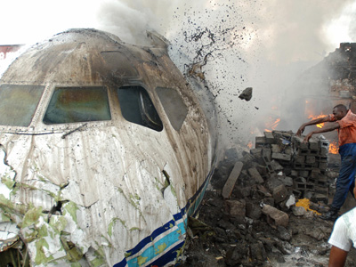 Timeline of Plane Crashes In Nigeria