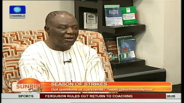 Strike Is Relatively Not Much Compared To Nigeria's Problem- Ejiofor