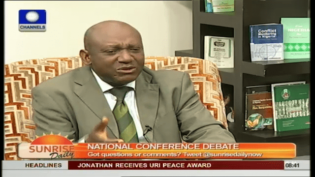 APC's Distrust Of National Confab Is All Politics – Prof. Nweze