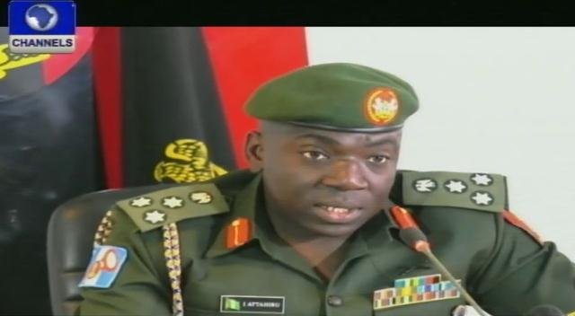 Nigerian Army Promises To Flush Out Insurgents