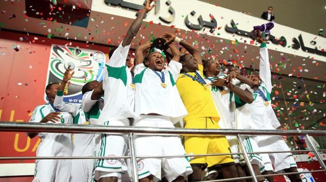 History: Golden Eaglets Win FIFA Under-17 World Cup