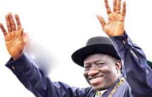 Goodluck Jonathan wave