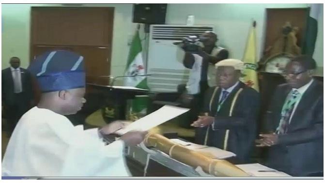 Ibikunle Amosun, governor of Ogun State.
