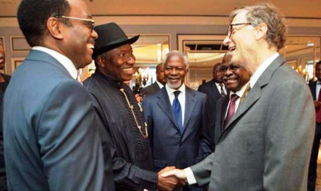 Polio Eradication: President Jonathan Joins Bill Gates