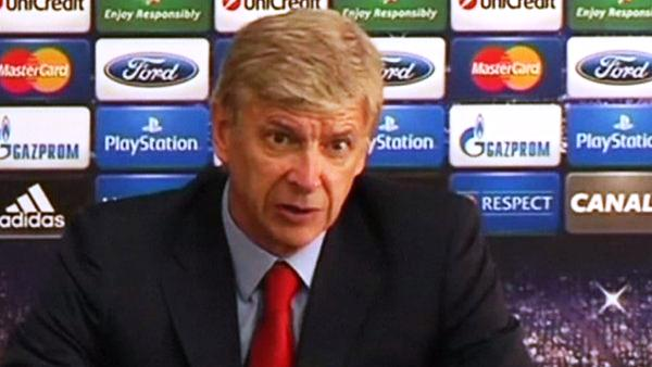 UEFA Champions' League: Wenger Determined To Top Group