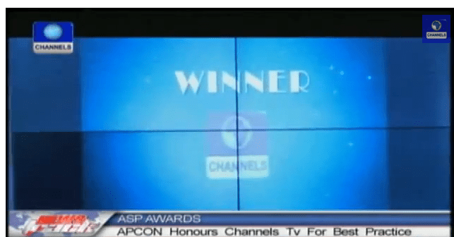 Channels Television Clinches Best Practice Award