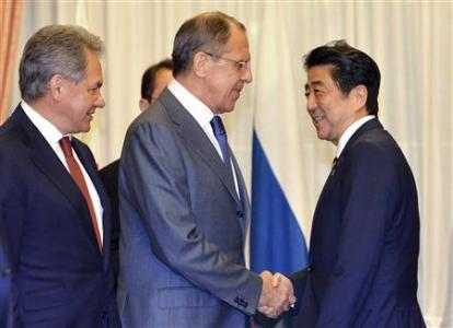 Japan, Russia Agree To Cooperate On Security As China Rises