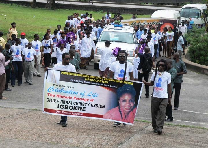 Onyeka Onwenu, Sonny Irabor, Timi Dakolo Pay Tribute To Late Christy Essien-Igbokwe
