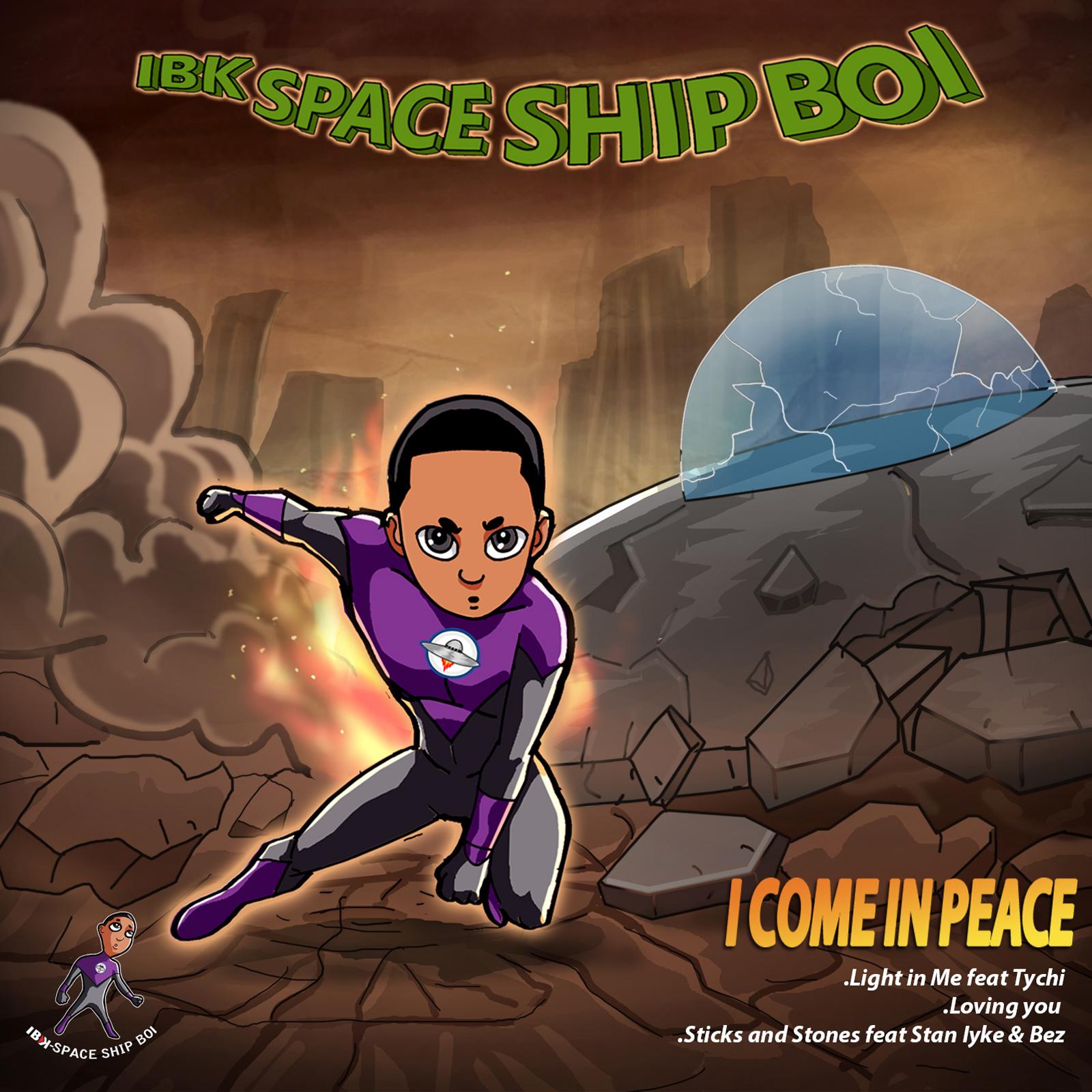 IBK Spaceshipboi Releases Album Art, Track List