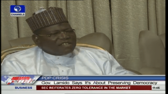nPDP/APC Alliance Will Bring Sanity To PDP – Lamido