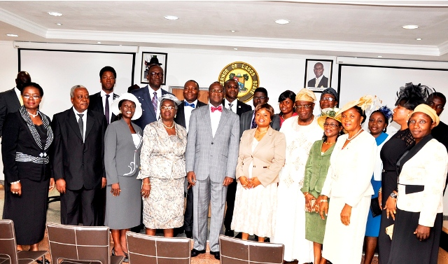 Lagos State Swears-In New Permanent Secretaries