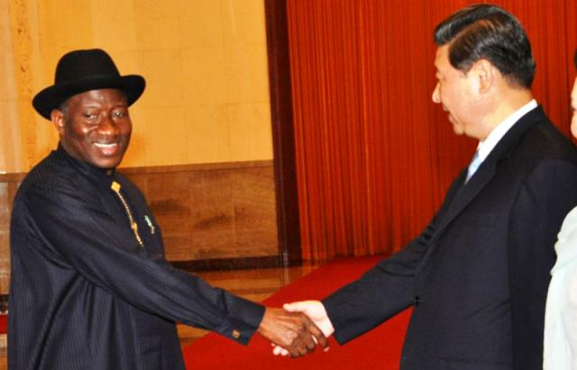 Jonathan Applauds Phenomenal Increase In Trade Between Nigeria And China