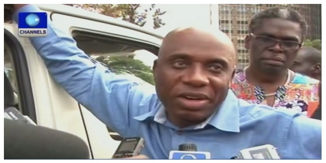 Anti-Amaechi Group Protests In Port-Harcourt