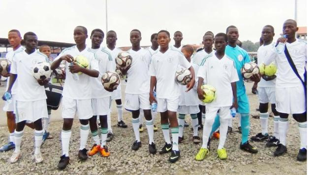 Abuja Comes Alive For U-13 Boys
