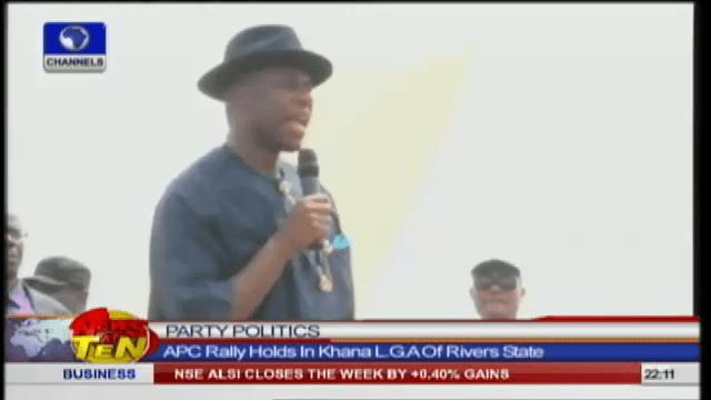 SRM Rally: Amaechi Urges Ogoni People To Shun Violence