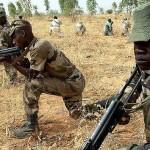 Army Training closeup