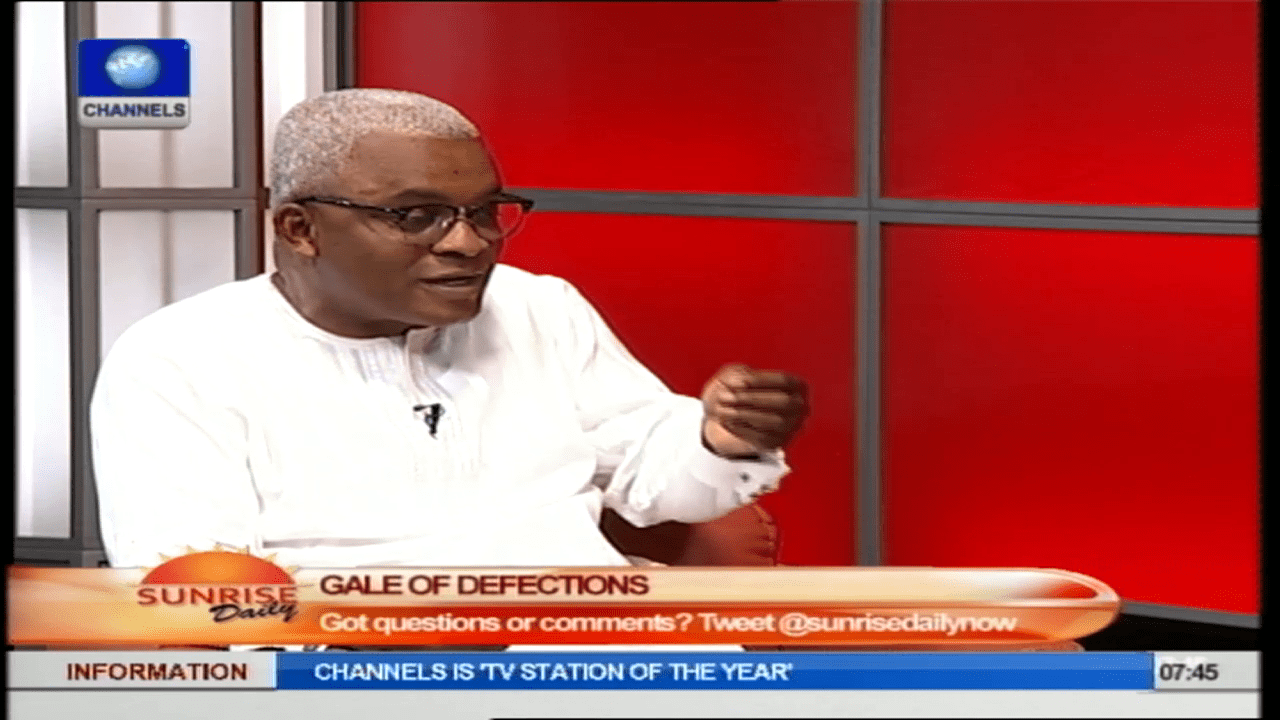 Defection Of Politicians Is Not Based On Ideological Conviction – Eyiboh