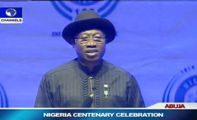 Centenary Celebration: Jonathan Advises African Leaders On Conflict Management