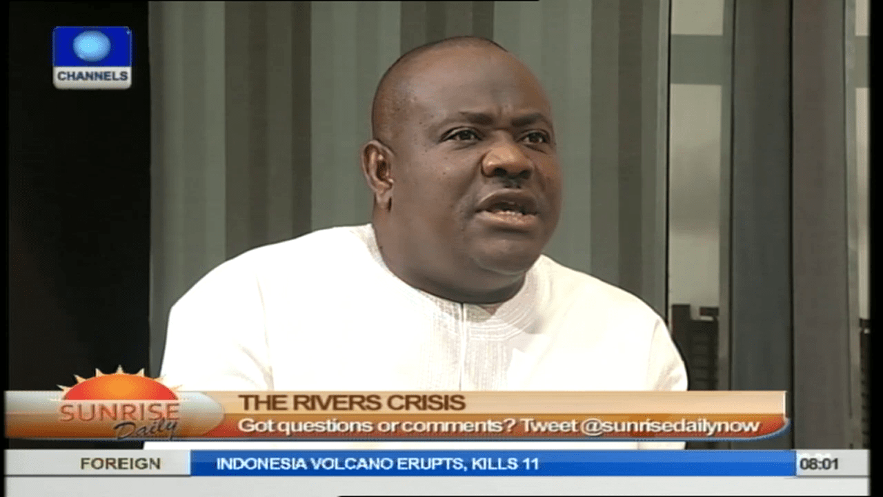 Amaechi's Defection To APC Is Root Of Rivers State Crisis – Wike