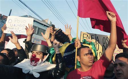 Brazil: Rio Protest Over Transport Fare Rise Ends In Violence