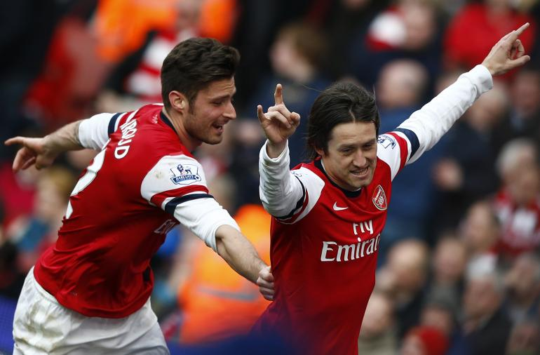 EPL: Tomas Rosicky Determined To Win With Arsenal