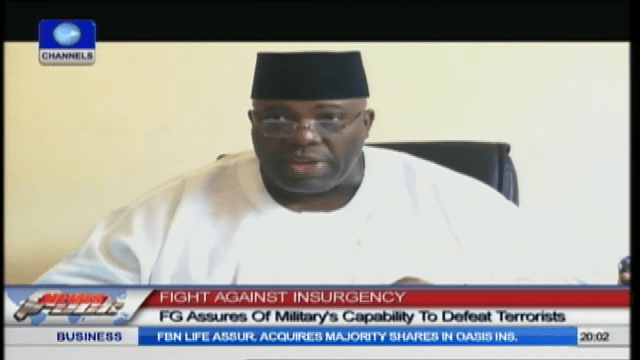Okupe Assures Nigerians Of Military's Ability To Defeat Boko Haram