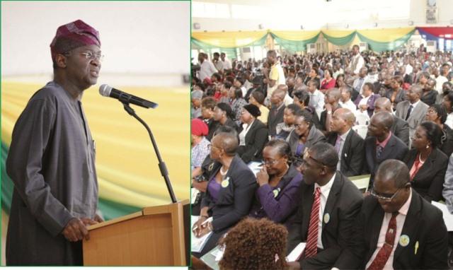 Fashola Emphasizes Teachers' Competency, Considers Professionalising Teaching