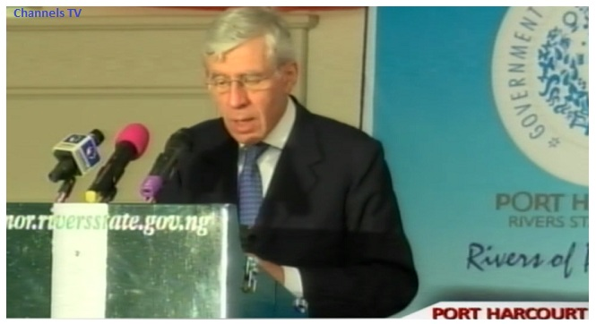 Straw Calls For Stronger Opposition Parties In Nigeria